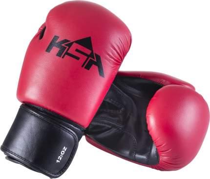 Боксерские перчатки KSA Spider красные 6 унций