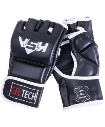 KSA Перчатки для MMA Lion Gel Black, к/з, S