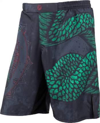 Шорты Rusco Sport Snake, black/green, XL