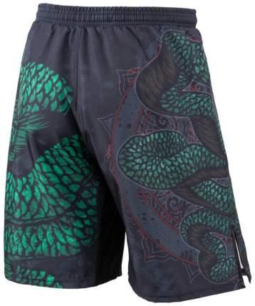 Шорты Rusco Sport Snake, black/green, M