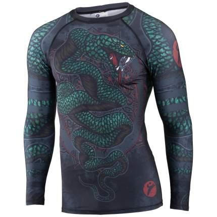 Рашгард Rusco Sport Snake, blue/green, L INT
