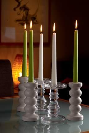 Свеча SPAAS Антик 25 см 4 шт. кремовые