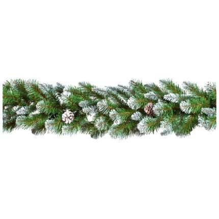 Хвойная гирлянда Triumph tree Императрица с шишками 73826 (387064) 270 см