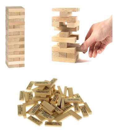 Семейная настольная игра Башня С Заданиями Для Детей