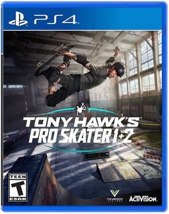Игра Tony Hawk's Pro Skater 1 + 2 для PlayStation 4