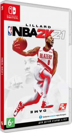 Игра NBA 2K21 для Nintendo Switch