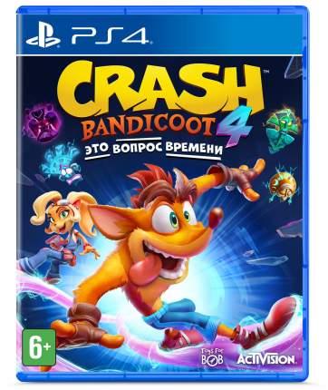 Игра Crash Bandicoot 4: Это Вопрос Времени для PlayStation 4