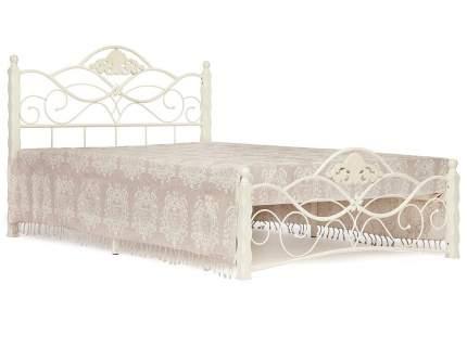 Двуспальная кровать CANZONA Белый, 1400х2000 мм