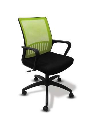 Офисное кресло MC-201 TW-11 Черный/TW-03A Салатовый