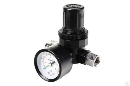 Регулятор давления WESTER 816-004 с манометром и адаптером 1/4'' 0-12бар 55278