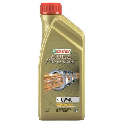 Моторное масло Castrol Edge Professional A3 0W-40 1л