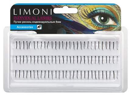 Пучки ресниц Limoni Individual Lashes 8 мм