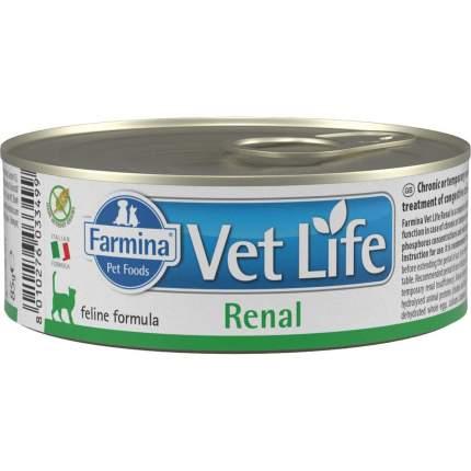 Консервы для кошек Farmina Vet Life Renal, при заболеваниях почек, 85г