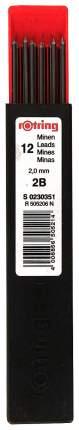 Грифели Rotring для цангового карандаша, 2,0 мм, HB