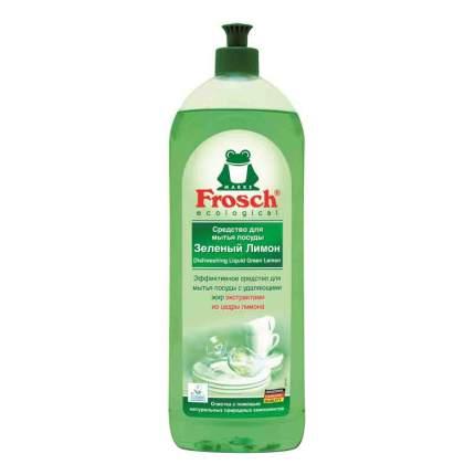 Средство для мытья посуды Frosch зеленый лимон 1 л