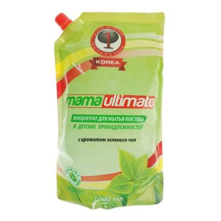 Средство для мытья посуды Mama ultimate зеленый чай 1 л