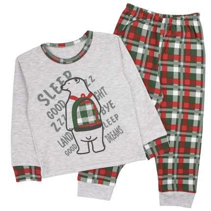 Пижама детская Юлла, цв. серый р. 110