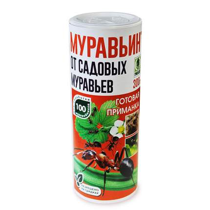 Средство для защиты от садовых муравьев Грин Бэлт Муравьин 01-383 300 г