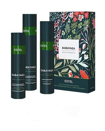Набор для волос Estel BABAYAGA (шампунь 250 мл, маска 200 мл, термозащитный спрей 200 мл)