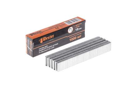 Скобы 826-018 для пневмостеплера WESTER NT5040