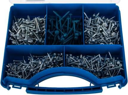 Набор шурупов в пластиковом чемодане, 675 шт. SK03