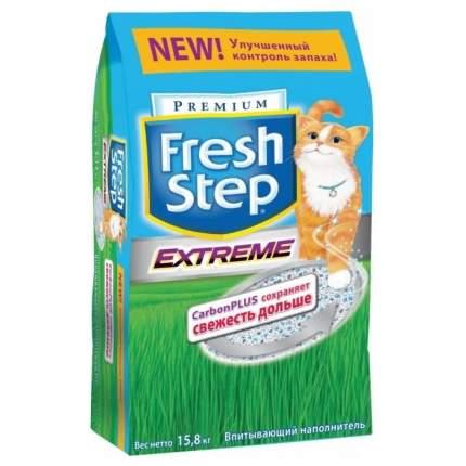 Впитывающий наполнитель для кошек Fresh Step Extreme бентонитовый, 15.87 кг, 30 л