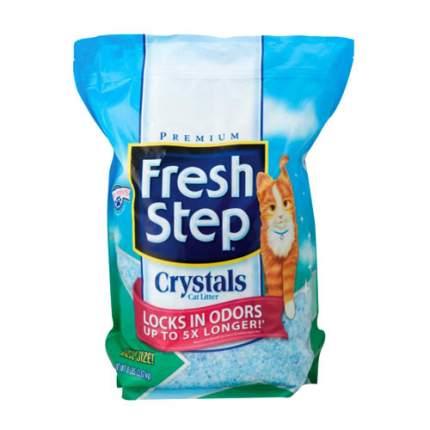 Впитывающий наполнитель для кошек Fresh Step Crystals силикагелевый, 3.62 кг, 15 л