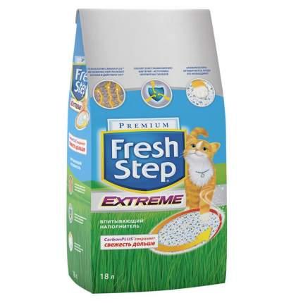 Наполнитель для кошачьего туалета Fresh Step Extreme тройная защита впитывающий 18л 9,52кг