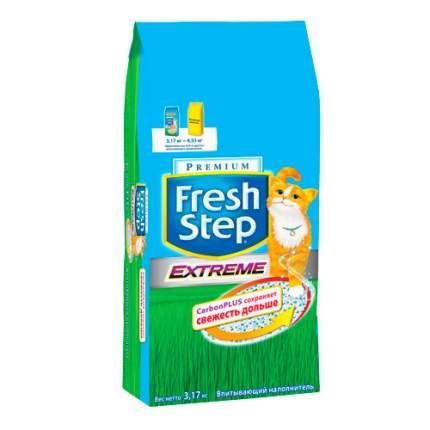 Наполнитель для кошачьего туалета Fresh Step Extreme тройная защита впитывающий, 6л 3,17кг