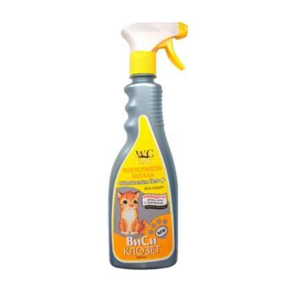 Поглотитель запаха для кошек WC Closet Антисепт део+, 500мл