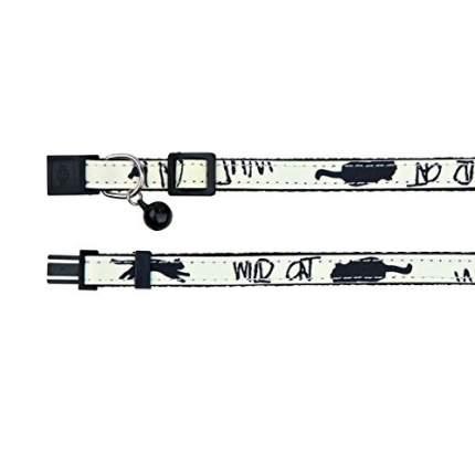 Ошейник для кошек TRIXIE Cat Collar, с колокольчиком и фосфоресцентным покрытием, M