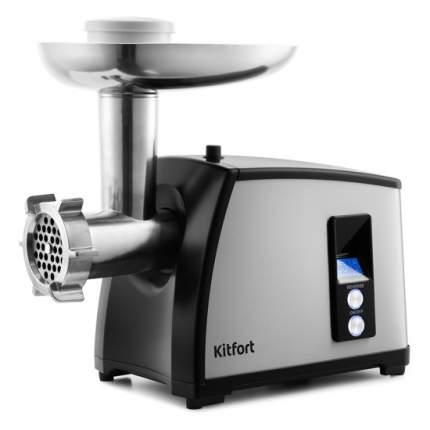 Электромясорубка Kitfort KT-2105 Grey