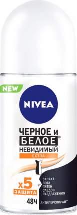 Дезодорант-антиперспирант Nivea Черное и белое Невидимый Extra 50 мл