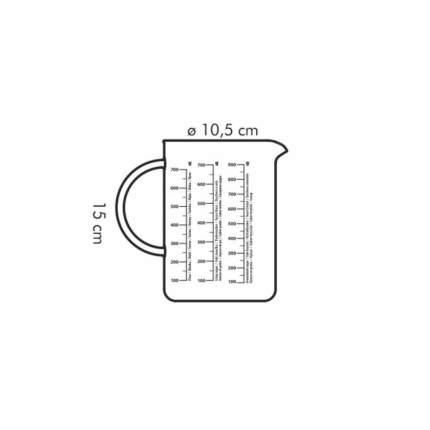 Измерительная емкость DELICIA 1,0л