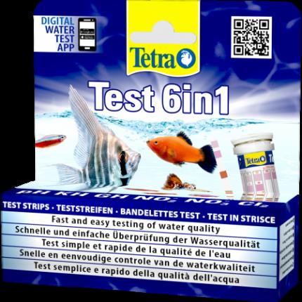 Тест-полоски для воды Tetra Tetratest 6 in 1