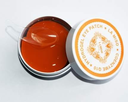 Гидрогелевая маска для кожи вокруг глаз La Miso с коэнзим Q10 90 гр