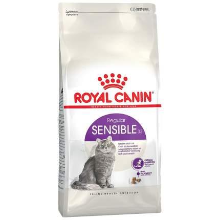 Сухой корм для кошек ROYAL CANIN Sensible 33, при чувствительном пищеварении, 4кг