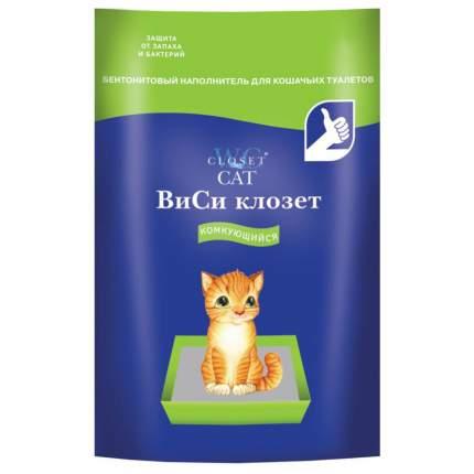 Комкующийся наполнитель для кошек WC Closet бентонитовый, 4.5 кг, 12 л