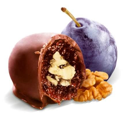 Чернослив Кремлина шоколадный с грецким орехом 190 г