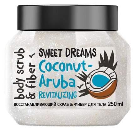 Скраб-фибер для тела MonoLove Coconut-Aruba обновляющий 250 мл