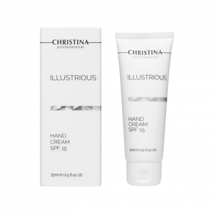 Крем для рук Christina Illustrious Hand Cream SPF15 Защитный 75 мл