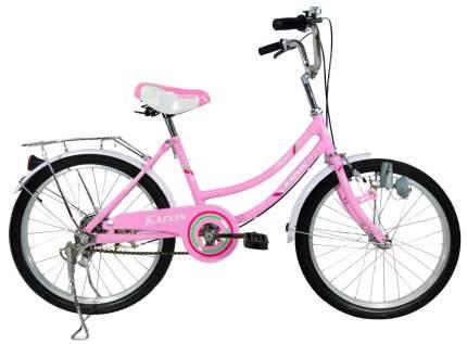Городской велосипед Kaixin R-24 розовый