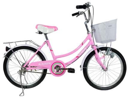 Городской велосипед Kaixin R-20 розовый