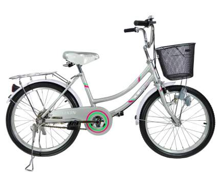 Городской велосипед Kaixin R-20 серебристый