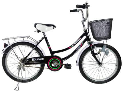 Городской велосипед Kaixin R-20 черный