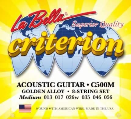 Струны для акустической гитары LA BELLA C5 00M
