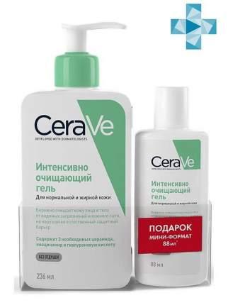 Набор средств по уходу за телом CeRave Интенсивно очищающий гель 236 мл + 88 мл в ПОДАРОК