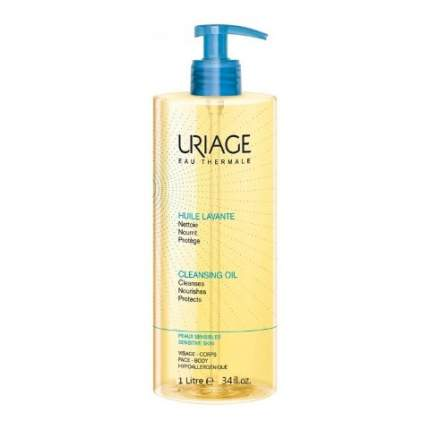 Средство для очищения Uriage Очищающее пенящееся масло 1000 мл
