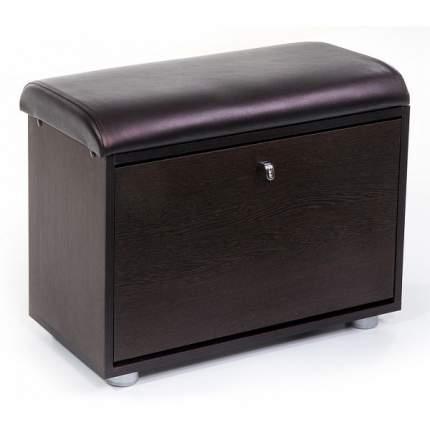 Обувница Бител МС-1; венге/темно-коричневый