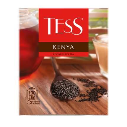 Чай черный Tess Kenya 100 пакетиков